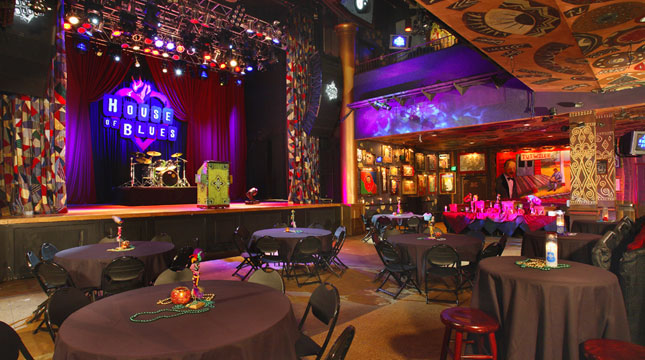 House Of Blues San Diego Voodoo Room Capacity
