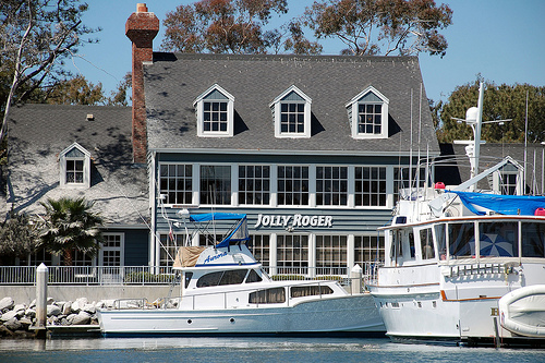 Jolly Roger Restaurant On Oceanside Harbor San Diegan