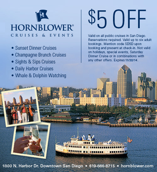 Hornblower Cruises San Diegan