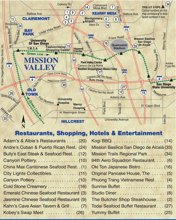 Mission Valley Is A Mecca For Dining Golf Major Shopping