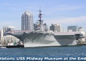 Visit the Historic USS Midway at the Embarcadero