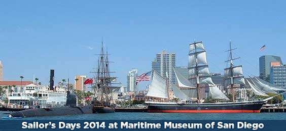 Sailor's Days at Maritime Museum of San Diego