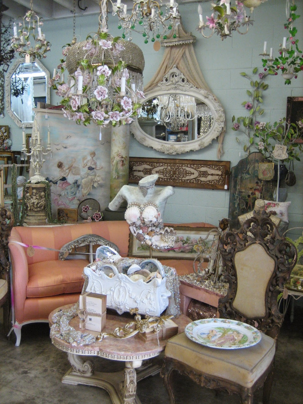 Vignettes Exclusive French Inspired Antiques San Diegan