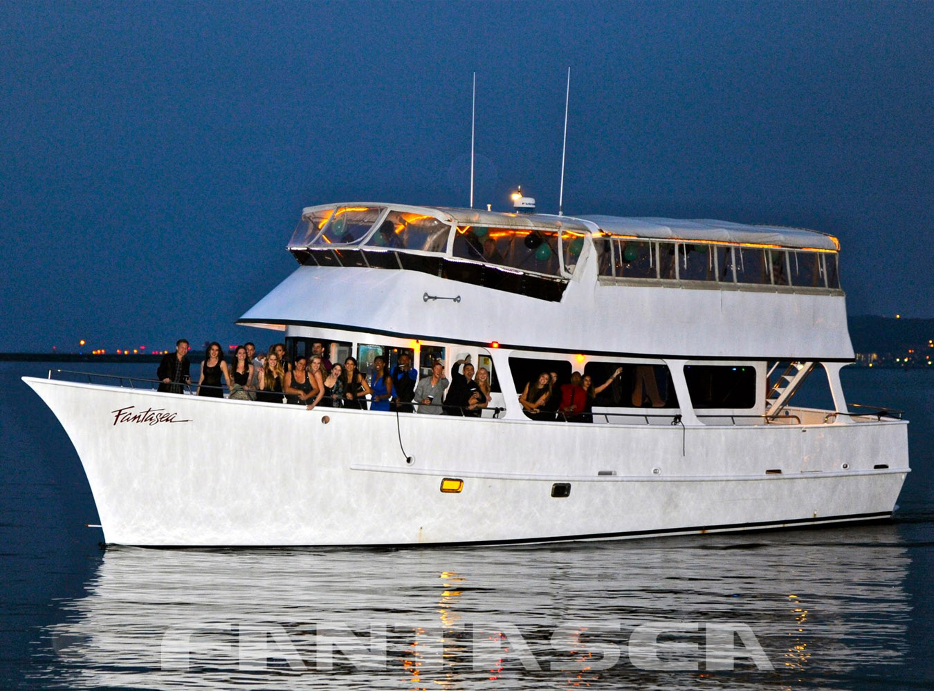 Yacht Fantasea Charters is a Great Venue for a San Diego Bay or