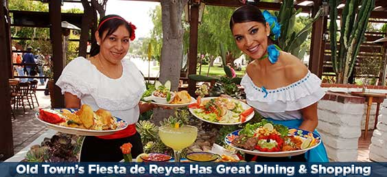 Old Town's Fiesta de Reyes Has Great Dining & Shopping