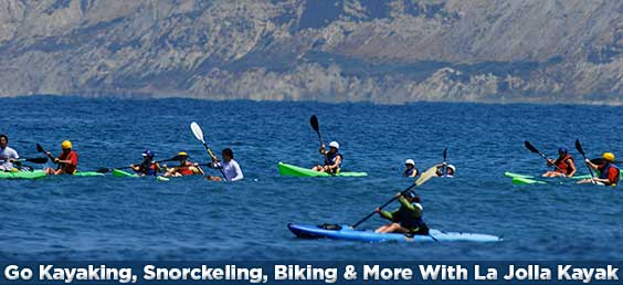 Go Kayaking, Snorckeling, Biking & More With La Jolla Kayak