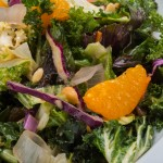 Asian Kale Salad at Bully's East
