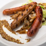 Sausage Platter at Bully's East