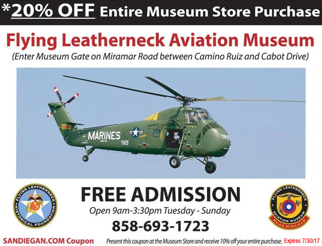 Coupon Leatherneck Museum