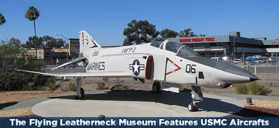 The Flying Leatherneck Museum in North County Inland