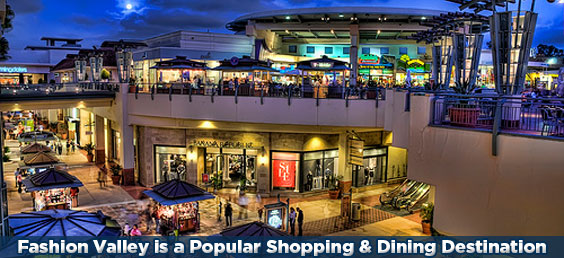 Fashion Valley Mall Restaurants San Diego Ca