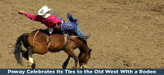Poway Celebrates Its Ties to the Old West With an Annual Rodeo