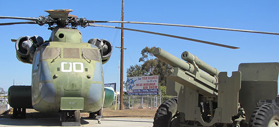 Flying Leatherneck Museum Launcher