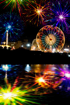 Fourth of July at San Diego County Fair