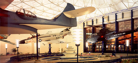 San Diego Air & Space Lobby