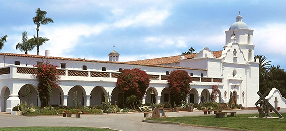 MIssion San Luis Rey in Oceanside