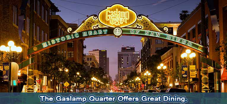 Dine Shop Discover Historic Gaslamp Quarter Downtown San Diego