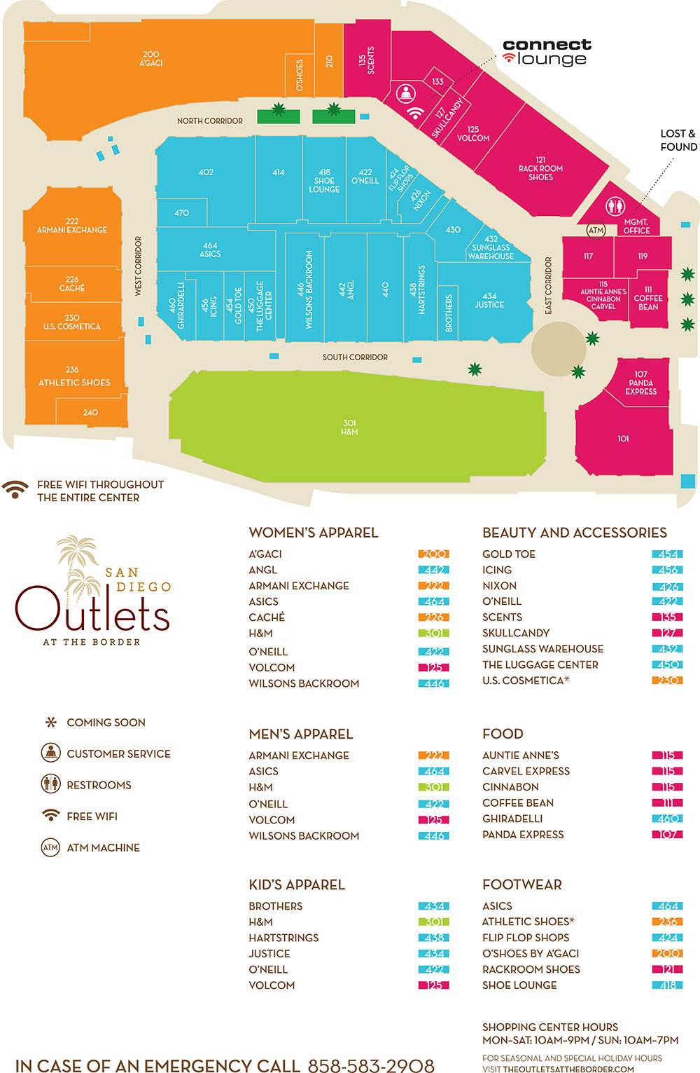 Legends Outlet Mall Kansas City Coupons