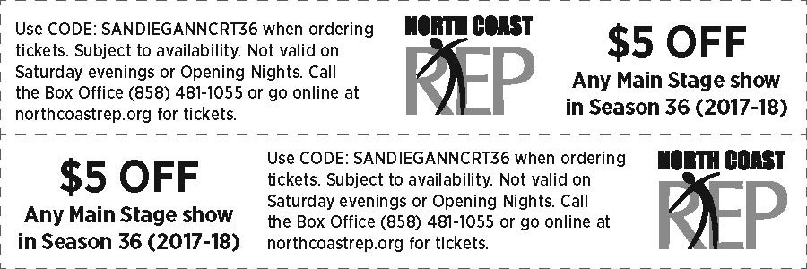 North Coast Repertory Theatre, Solana Beach, San Diego