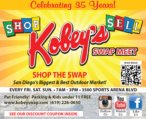 Kobeys Swap Meet Offers A OFF Adult Coupon SAN DIEGAN - San diego international car show coupons