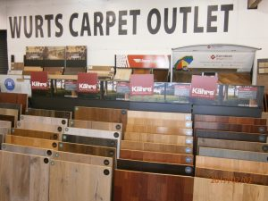 Selection of Flooring, Showroom