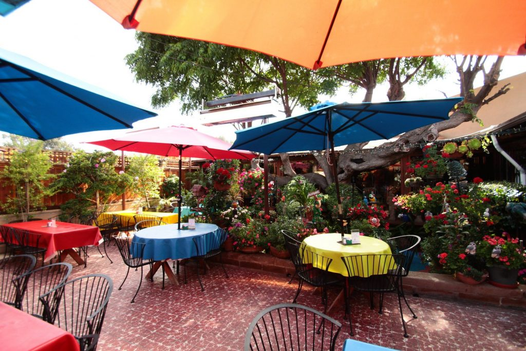 Tony's Jacal in Solana Beach offers patio seating