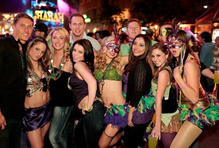 2018 Gaslamp Mardi Gras Party Hop Fri Sat Feb 9 Amp 10